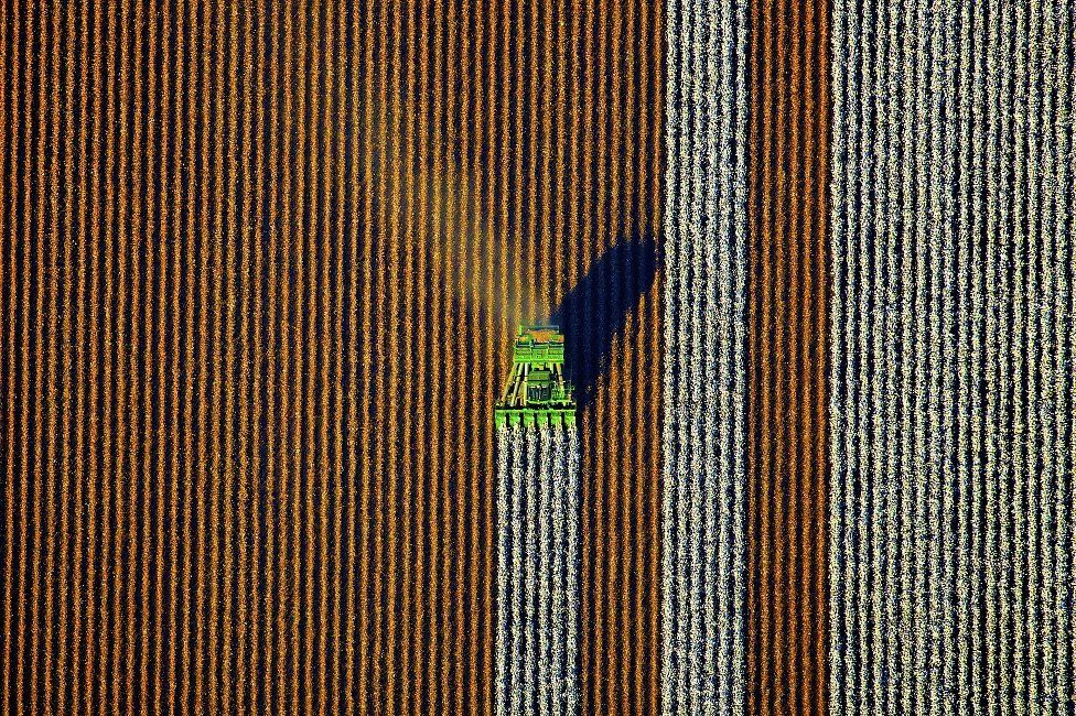 in pictures finding patterns in australian farmland bbc news