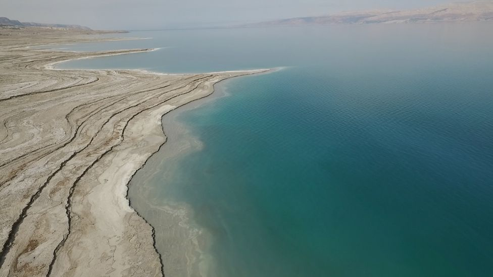 Dead Sea Drying A New Lowpoint For Earth BBC News - How high is my house above sea level uk