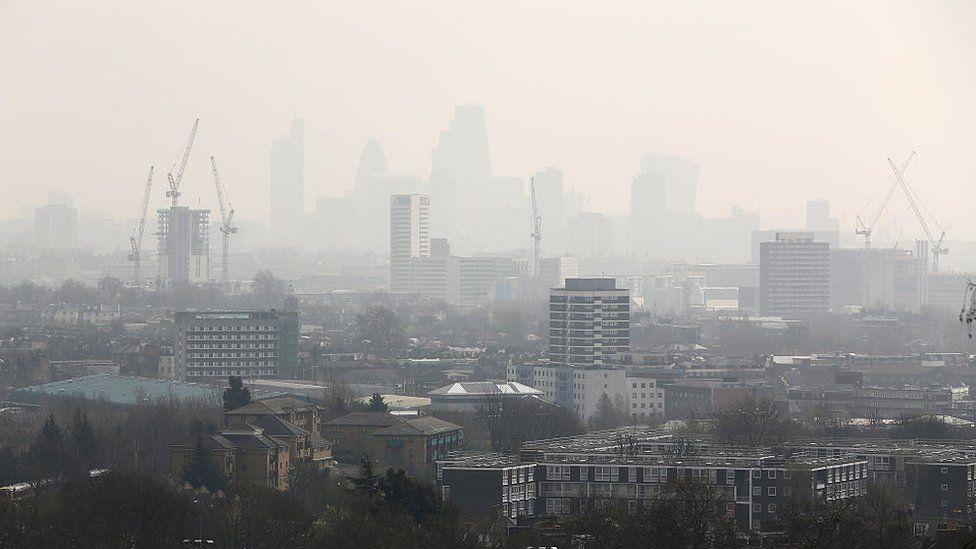 Londres contaminado