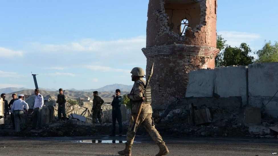 Security forces in Nangarhar, file