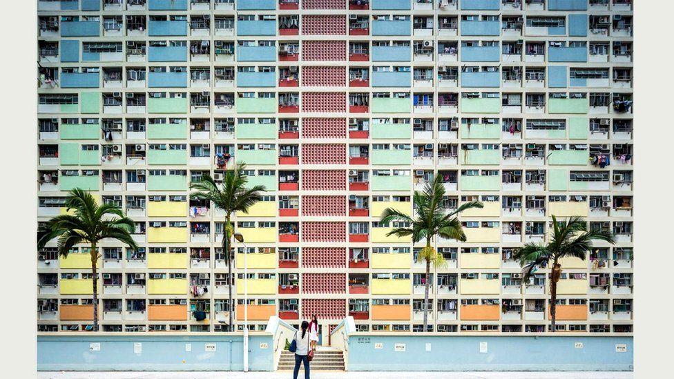 Жилое здание Choi Hung Estate в Гонконге
