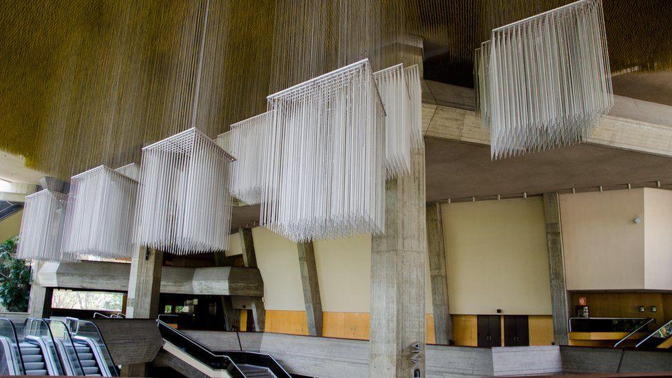 Interior del Teatro Teresa Carreño