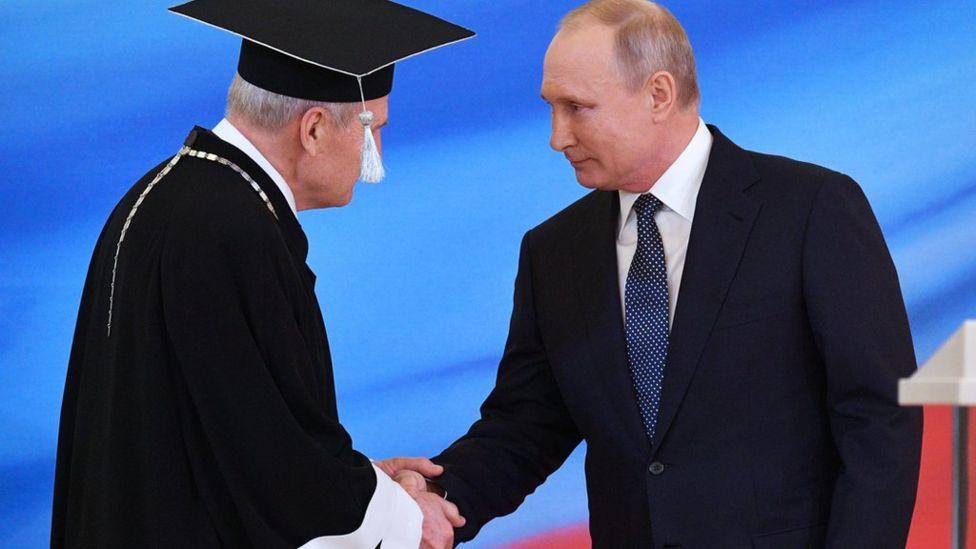 Зорькин и Путин