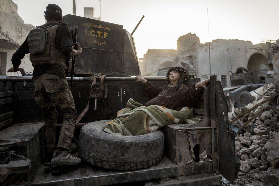Бойцы иракского