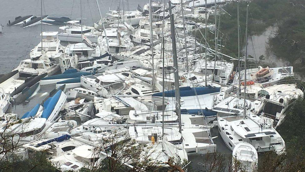Ураган Ирма на Карибах