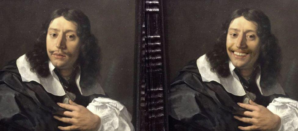 Olly Gibbs'in gülümsettiği tablolardan biri