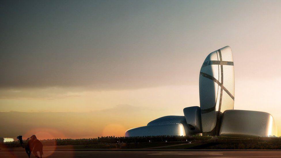 King Abdulaziz Center for World Culture, Saudi Arabia