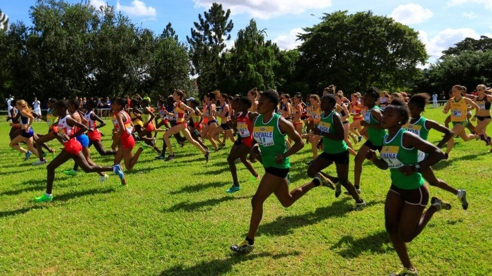 Uganda hosted the IAAF World Cross Country Championships in Kampala on Sunday - this was the senior race for women.