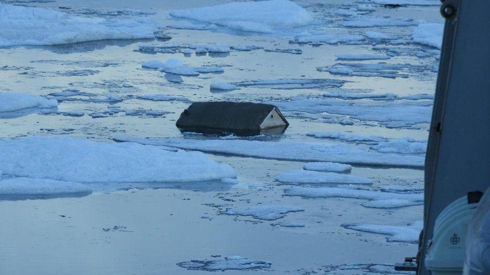 Цунами в Гренландии (ФОТО)