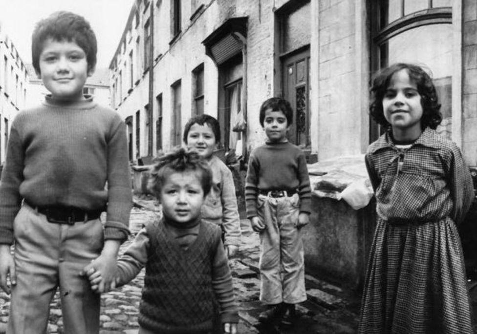 Gent'in yoksul mahallelerinde yetişen göçmen çocuklar (1973-Belçika)