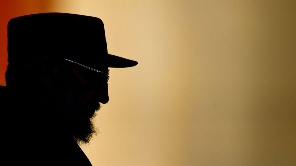 Silhueta de Fidel Castro