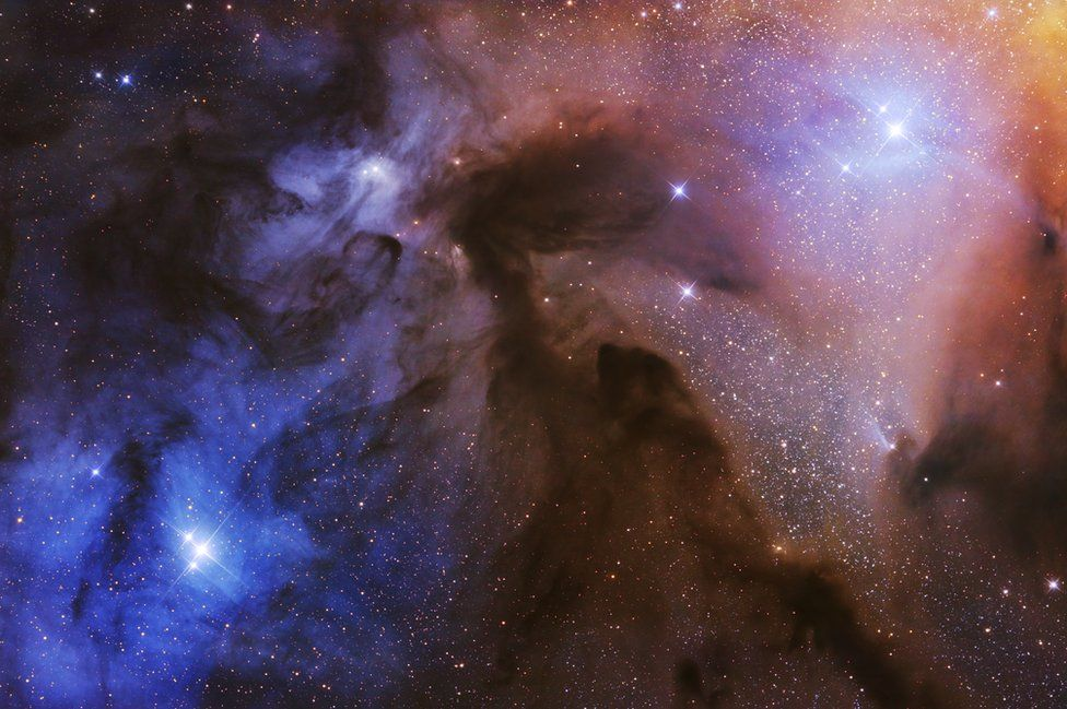 The Rho Ophiuchi Clouds.