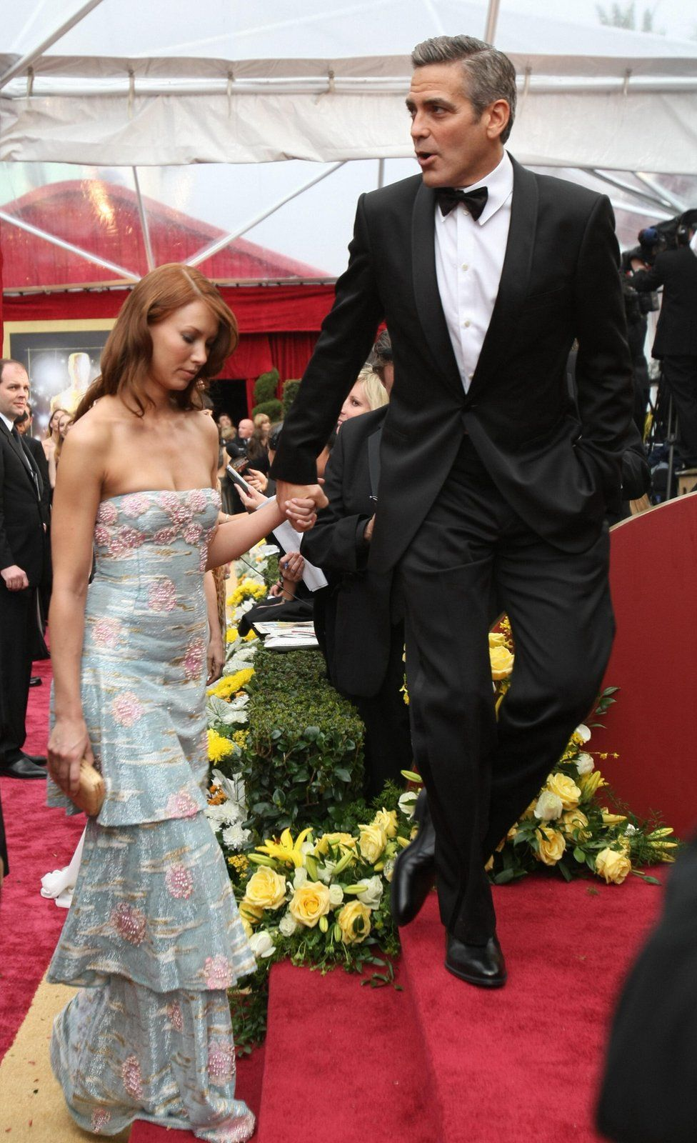 Джордж Клуни и Сара Ларсон