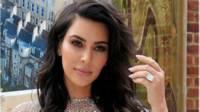 Kim Kardashian khoe ảnh chụp chiếc nhẫn kim cương lớn
