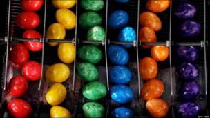 huevos, colores, alemania