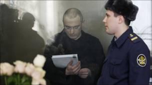 Ходорковский  суде
