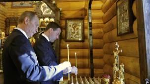 Путін і Медвєдєв