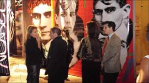 Imagén de la Segunda Bienal Borges-Kafka/Buenos Aires-Praga