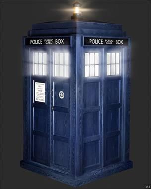 """Nueva imagen de la nave Tardies del """"Doctor who"""