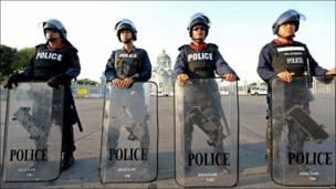 Полиция в Бангкоке