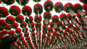 Буддистские светильники