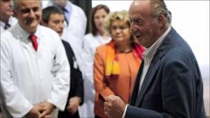 El Rey Juan Carlos I de España