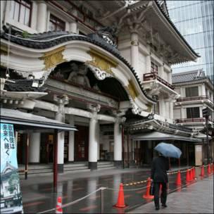 Театр Кабуки в Токио