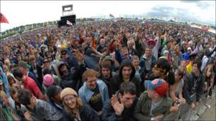 Glastonbury (foto archivo).