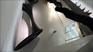 Museo de arte contemporáneo Maxxi en Roma