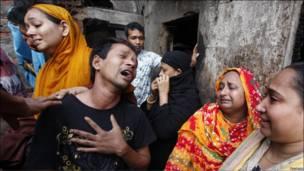 Gobarar a birnin Dhaka na Bangladesh