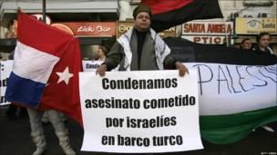 Manifestación en Asunción