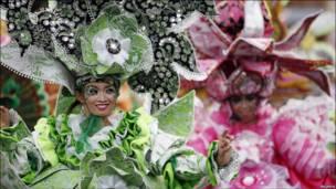 Фестиваль костюма на острове Ява