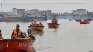 Нваоднение в Китае