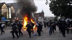 Беспорядки в Торонто