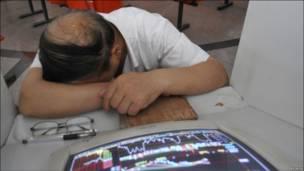 Уснувший маклер