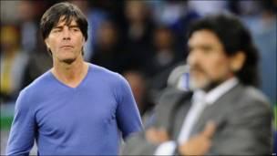 Диего Марадона и Йоаким Лев