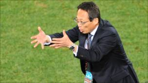 Такеси Окада, тренер сборной Японии