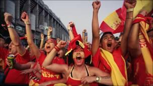 La fiesta se prende en Madrid