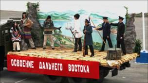 Парад на флоте во Владивостоке