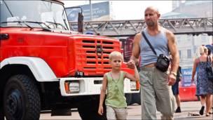 Пожарная машина на Белорусской
