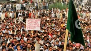 بھارت کے خلاف کشمیری احتجاج