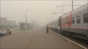 На вокзале в Рязани
