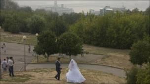 Свадьба в смоге