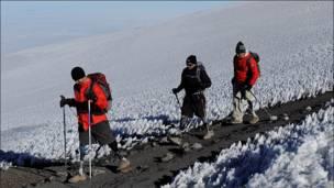 Veteranos en el Kilimanjaro