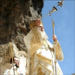 Службу відправив Патріарх Варфоломій І
