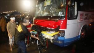 Некоторые заложники были ранены, по меньшей мере четверо из них убиты