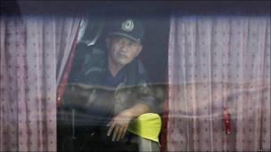 Бывший сотрудник филиппинской полиции Роналдо Мендоза