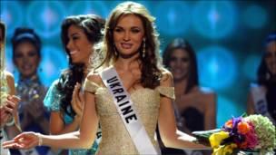 Мисс Украина Анна Пославская
