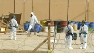 بمب شیمیایی پیدا نشد