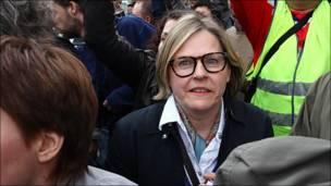 Член европарламента на Триумфальной площади. Фото bulbashov